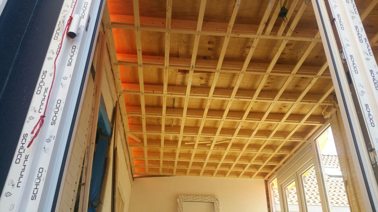 afwerking dak onder